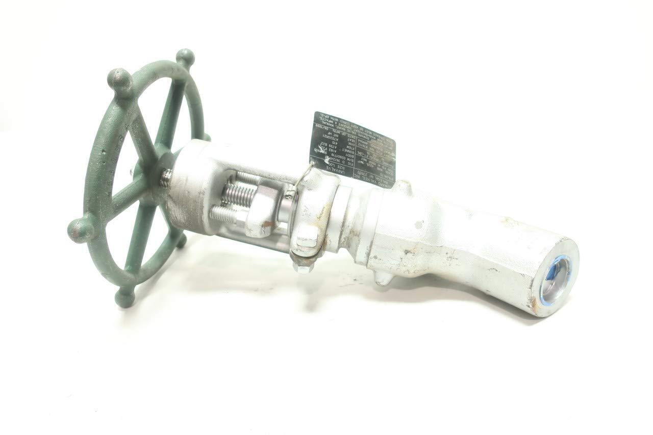 EDWARDS D36124F22 1690 Socket Weld 1IN Globe Valve