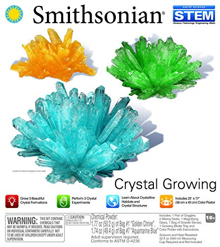 (Smithsonian Crystal Growing Gem Like)