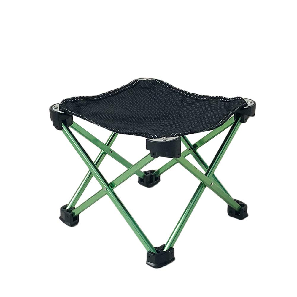 A Folding Stool, Ergonomic Stool FourCorner Chair Multifunctional Picnic Chair Outdoor Folding Stool Folding Chair Portable (color   C)