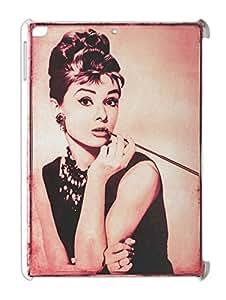 Lovely Star Audrey Hepburn iPad air plastic case