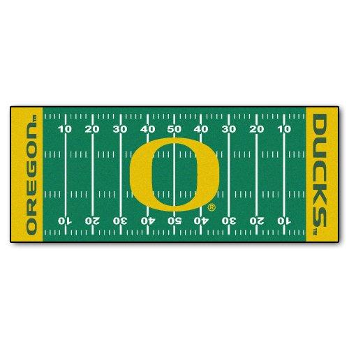 FANMATS NCAA University of Oregon Ducks Nylon Face Football Field ()