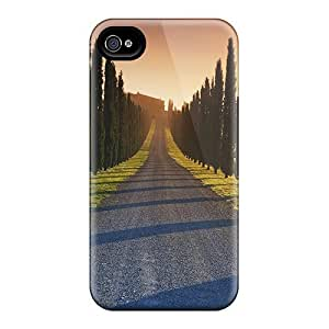 DustinHVance EUvgGkC6402ZWEJh Case Cover Skin For Iphone 4/4s (tree Lined)