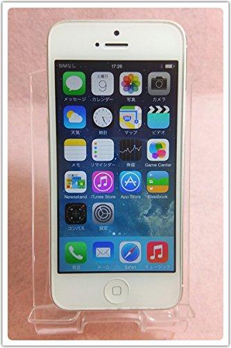 iPhone5 32GB(ホワイト&シルバー)