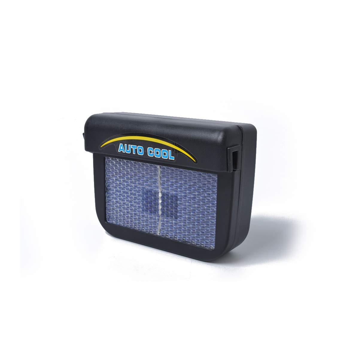 Vosarea Ventilatore Radiatore Solare Auto Ventola di Raffreddamento per Finestrino dellauto