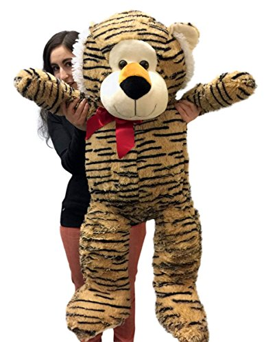 3 Foot Giant Stuffed Tiger 36 Inch Soft Big Plush Stuffed Animal - 5106lLyPwtL - 3 Foot Giant Stuffed Tiger 36 Inch Soft Big Plush Stuffed Animal