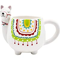 Tazas Animales (Alpaca) 2415-3481 Taza para Café de Cerámica Original 3D 403ml