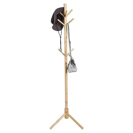 Greensen Perchero de madera maciza para sombreros, sombreros ...