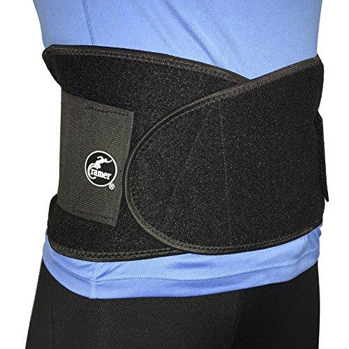 Cramer Double Strap Back Support Waist Belt For Abdominal...