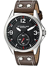 Men's 684.01 Tuskegee Analog Display Quartz Brown Watch