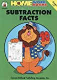 Subtraction Facts, Home Workbooks, 0887243444