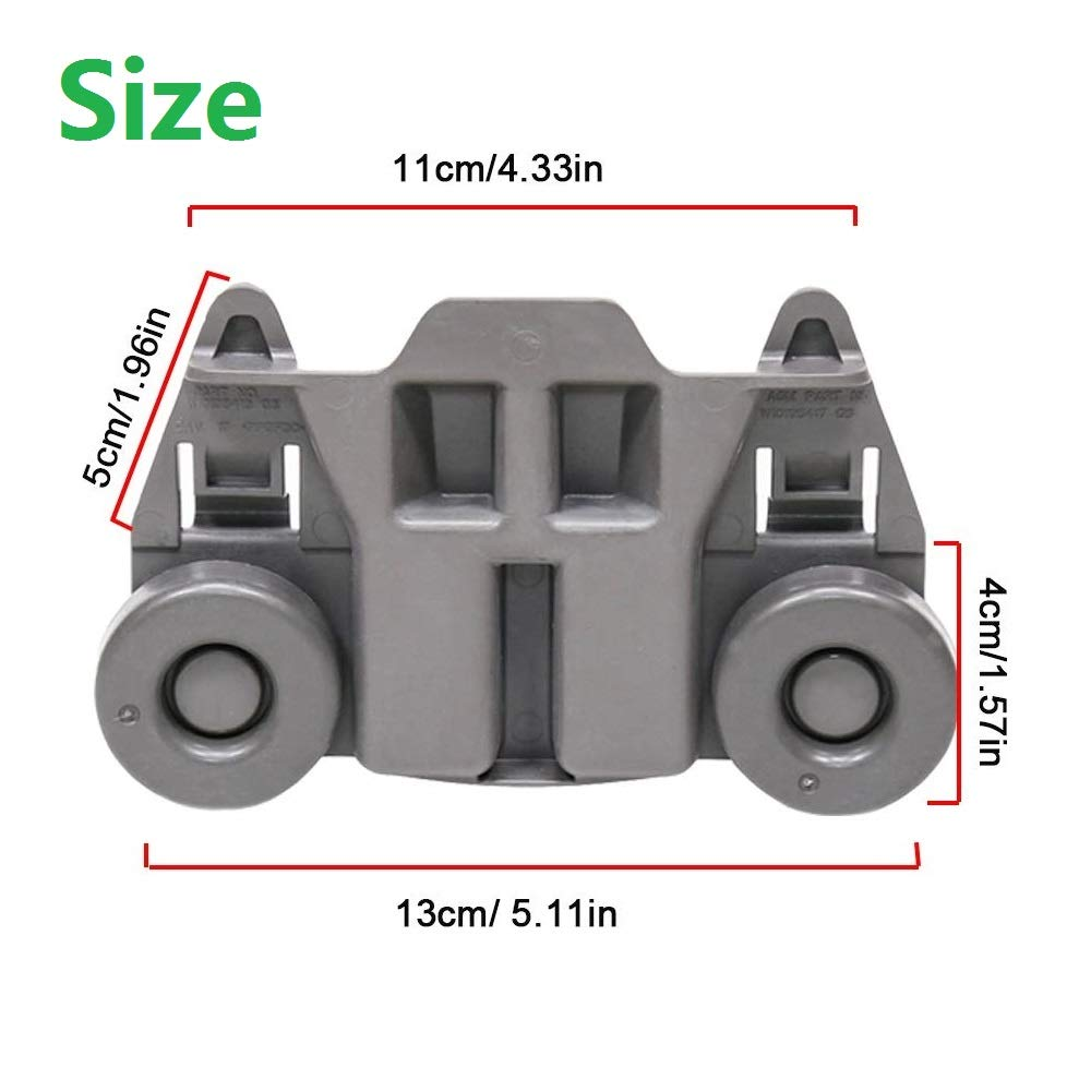Amazon.com: Odowalker W10195417 - Juego de 4 ruedas para ...
