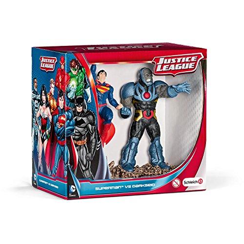 Schleich - 22509 - Figurine Bande Dessinée - Scenery Pack - Superman Vs Darkseid