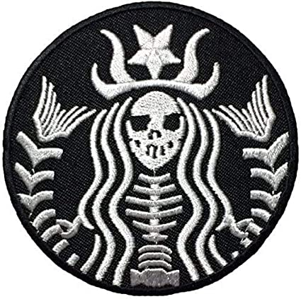 Cool Hand Middle Finger Zombie Skeleton Cool Hand Sign ironsew on Patch Badge