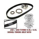Timing Belt Kit OEM For Toyota Hillux Prado Hiace Diesel Turbo 2.5L 2KD 3.0L 1KD