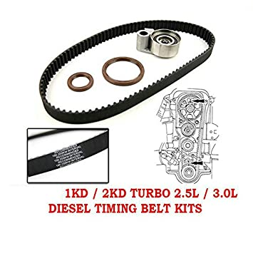 Timing Belt Kit OEM For Toyota Hillux Prado Hiace Diesel Turbo 2.5L 2KD 3.0L