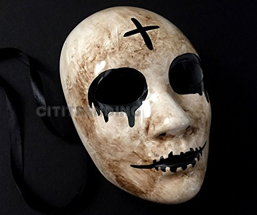 [THE PURGE MOVIE ANARCHY Election Year Kiss Me mask Halloween Masquerade Party] (Assassins Creed Costume For Kids At Party City)