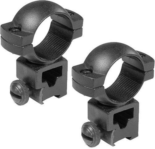 BARSKA 1-Inch High Dovetail Airgun .22 Style See-through Riflescope - Riflescope Ring Inch 1 Dovetail