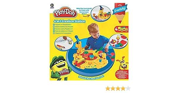 Play-Doh - Juego Estación creativa 4 en 1 #8399: Play-Doh: Amazon ...