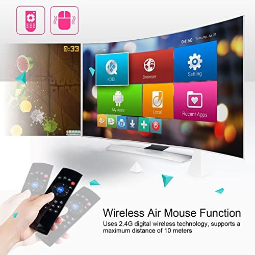 BHGFCGYUH 2.4G Wireless Mini Keyboard Mouse Touchpad for Android TV Box//Smart TV//Raspberry Pi//Laptop