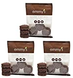 Emmy's Chocolate Macaroons, 2 Ounce (Pack of 3) (Dark Cacao)