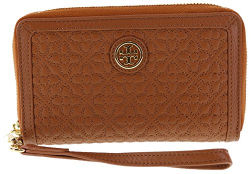 Tory Burch Bryant Smartphone Wristlet Wallet, Style No 34030 (Luggage) by Tory Burch