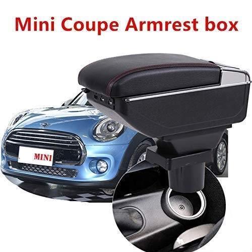 Apoyabrazos Caja Central Almacenamiento Estiba Organizador del Coche para Mini Coupe Cooper Geeignet