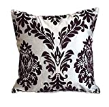 UNOVISTA HOME White Flocked Cushion