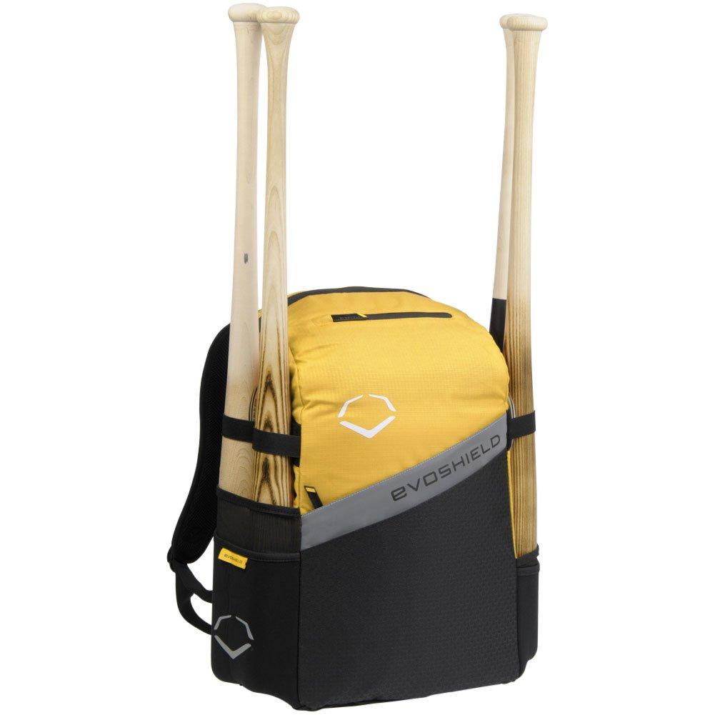 Evoshield野球/ソフトボールチームBat Packバックパックバッグ B00R3M1QYW イエロー イエロー