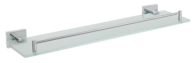 Nicol 7113000 Triton montado en la Pared latón Cromado Estante de Cristal Longitud 52 cm, de Alto Brillo, Cromo Metal 14.00 x 52.00 X 5,50 CM: Amazon.es: ...