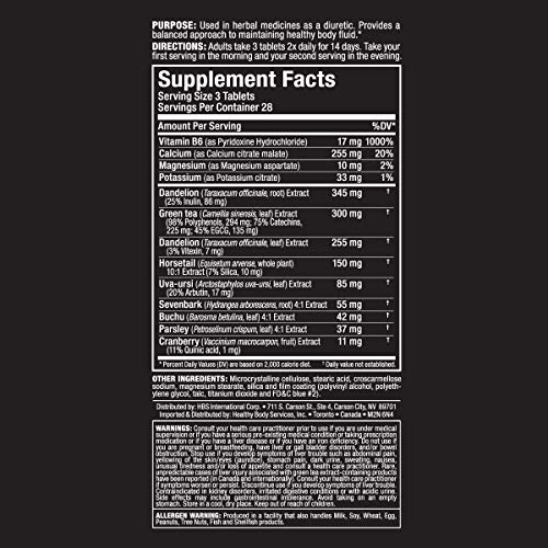 ALLMAX Nutrition HydraDry, 14-Day Pre-Contest Water Loss System, 84 Tablets by ALLMAX Nutrition (Image #3)