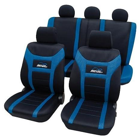 Sitzbezüge blau hinten KOS FORD FOCUS