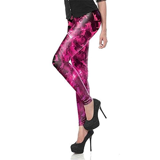 Verano Otoño Leggings Legins Impreso 3D Moda Mujer Ropa ...