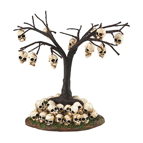 Department 56 Halloween Village Skull Tree, 6.3 (Secret Pal Ideas For Halloween)