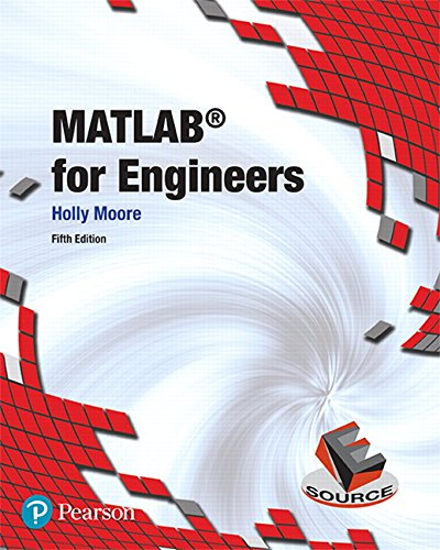 MATLAB for Engineers (5th Edition) cover