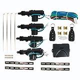 YaeTool Universal Car Locking System Car Lock Convertion Kit With Remotes Keyless Entry Security