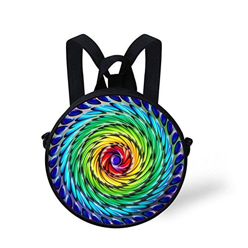 Women FancyPrint Women Round Fashion Bag NYEC0104I for for body Cross Women Circle Bag Tfqfwd4
