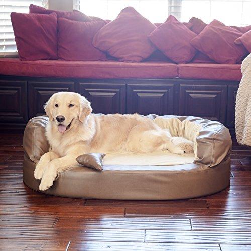 integrity-bedding-orthopedic-luxury-full-bolster-memory-foam-leatherette-dog-pet-bed-x-large-bark