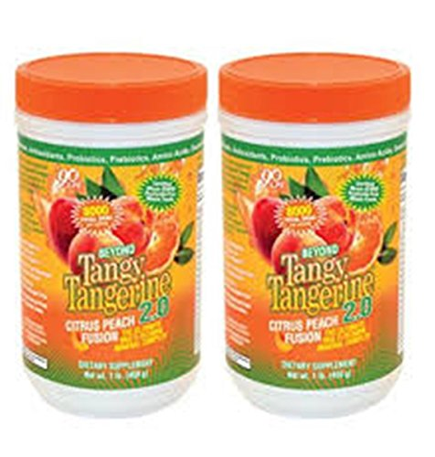 Beyond Tangy Tangerine 2.0, Citrus Peach Fusion,(Twin Pak) by Youngevity by Youngevity