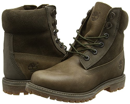 Bottines D 6in Grün Double canteen Femme Timberland Premium In Premium À Froide Vert Doublure ring Waterbuck Premium 6 6 qqfw1v