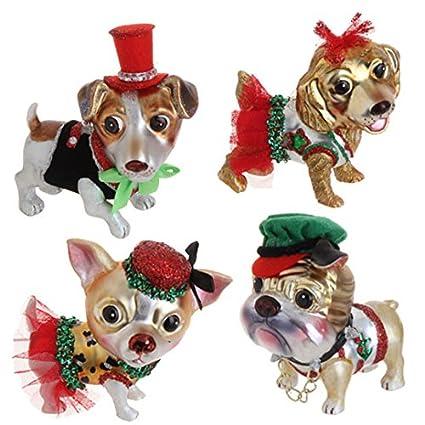 dog christmas tree ornaments