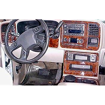 Chevrolet chevy tahoe interior wood dash trim - Chevy avalanche interior trim parts ...