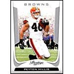a1fa813a043 2011 Panini Prestige #50 Peyton Hillis NM-MT Cleveland Browns Official NFL.