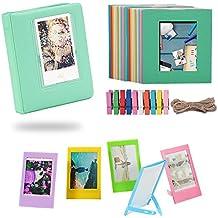 Katia Film Frames Bundles Set for HP Sprocket Portable Photo Printer/ Polaroid ZIP Mobile Printer/ Polaroid Snap Instant Digital Camera with Album/ Frames/ Hanging Frames