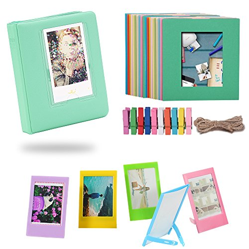 Katia Film Frames Bundles Set for HP Sprocket Portable Photo Printer/ Polaroid ZIP Mobile Printer/ Polaroid Snap Instant Digital Camera with Album/ Frames/ Hanging Frames