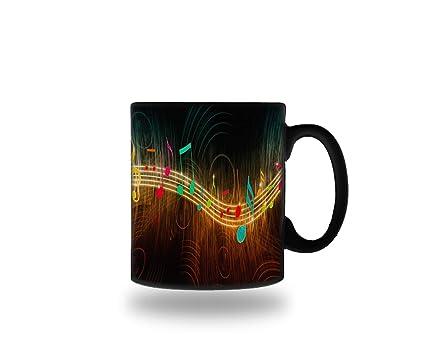 Amazon com | Music Symbols Heat Color Changing Ceramic Magic