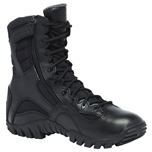 Belleville TR960ZWP KHYBER Lightweight Waterproof Side-Zip Tactical Boot 12 D(M) US - Combat Tex Black Boots Gore