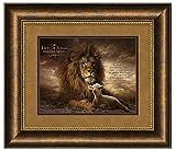 Carpentree The Lion of Judah Framed Art, 29.5'' x 25.5''