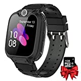 MeritSoar Kids Smartwatch with 1GB Card Music MP3 Player 7 Games Sports Smartwatch with Phone Call, Work with or Without Sim Card for Children Boys Girls Students 4-12 Years Old