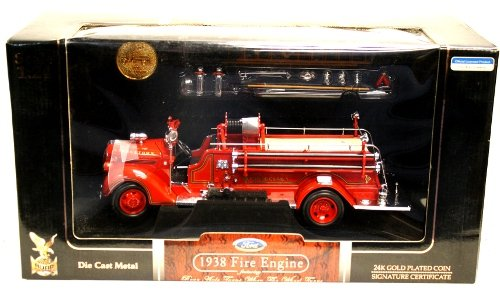 Road Signature 1938 Ford Georgetown Engine Co. No. 1 Fire Engine by Yat Ming