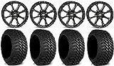 "STI HD4 15"" Wheels Black 31"" Mud Hog LT Tires Can-Am Maverick X3 / Honda Pioneer 1000 / Talon"